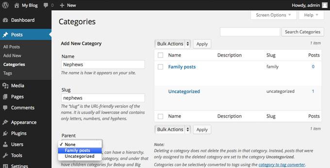 Come nascondere alcune categorie dalla Homepage