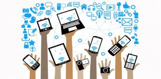 cresce l'utilizzo di smartphone e tablet
