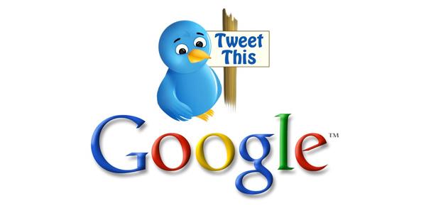 Nuovo accordo tra Twitter e Google