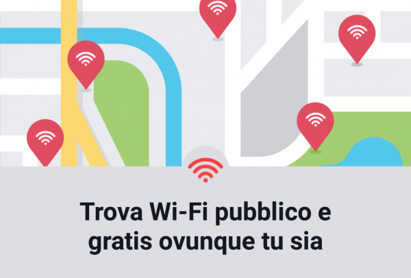 Facebook trova wifi nelle vicinanze